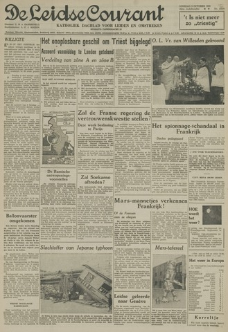 Leidse Courant 1954-10-05