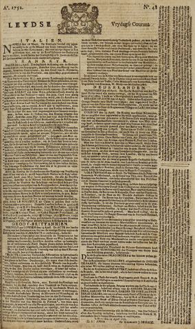 Leydse Courant 1752-04-21