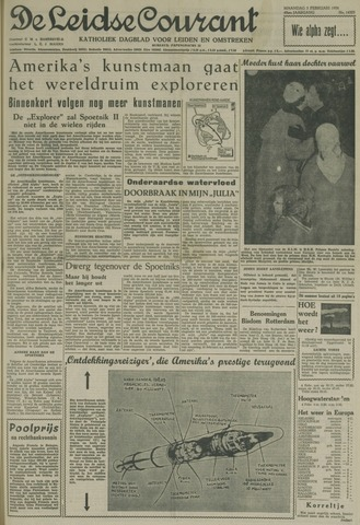 Leidse Courant 1958-02-03