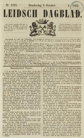 Leidsch Dagblad 1863-10-08