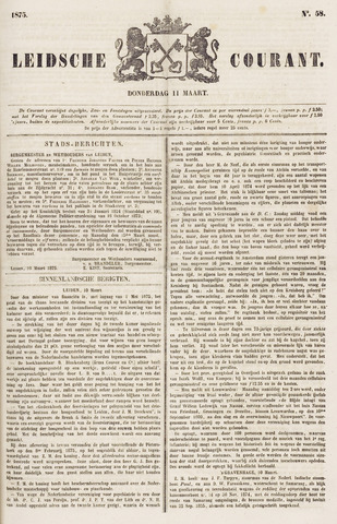 Leydse Courant 1875-03-11