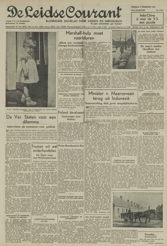 Leidse Courant 1950-02-17