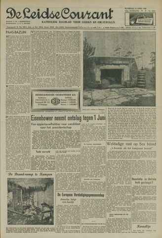 Leidse Courant 1952-04-12