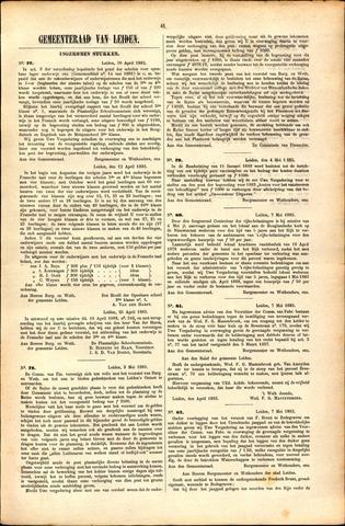 Handelingen van de Raad 1883-04-30