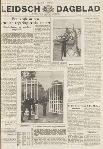 Leidsch Dagblad 1954-06-14