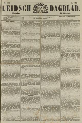 Leidsch Dagblad 1870-10-24