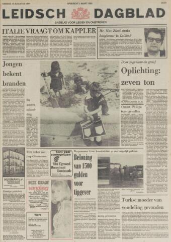 Leidsch Dagblad 1977-08-16