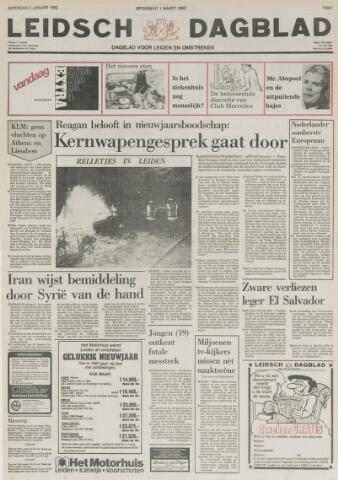 Leidsch Dagblad 1982