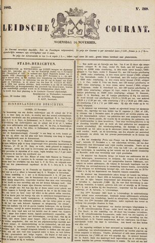 Leydse Courant 1883-11-14