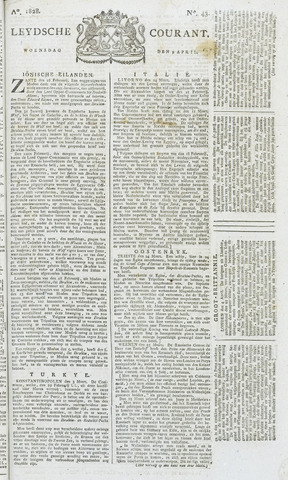 Leydse Courant 1828-04-09