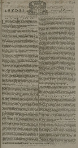 Leydse Courant 1739-07-01