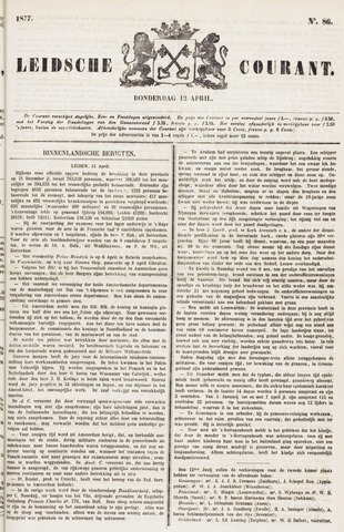 Leydse Courant 1877-04-12