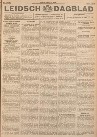 Leidsch Dagblad 1926-06-10