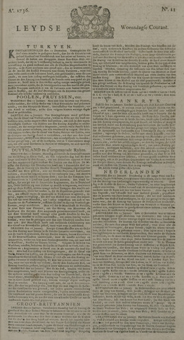 Leydse Courant 1736-01-25