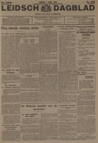 Leidsch Dagblad 1940-04-05