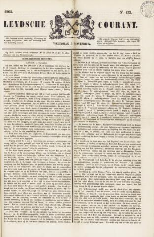 Leydse Courant 1862-11-05