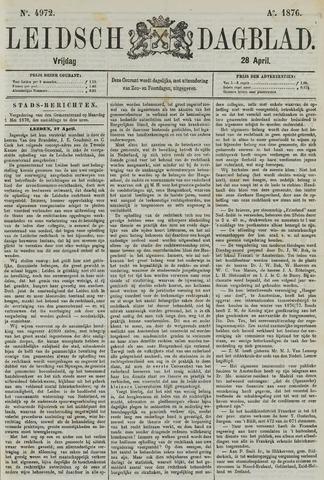 Leidsch Dagblad 1876-04-28