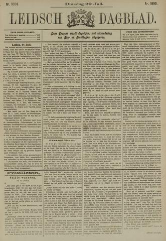 Leidsch Dagblad 1890-07-29