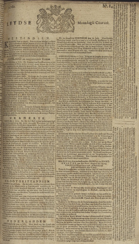 Leydse Courant 1760-07-14