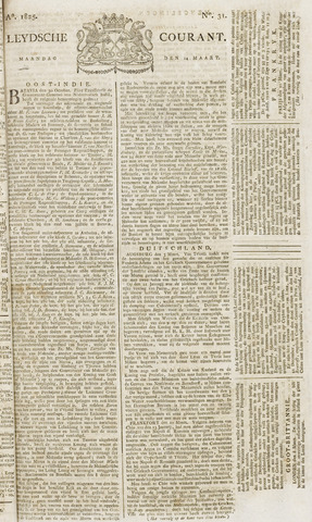 Leydse Courant 1825-03-14