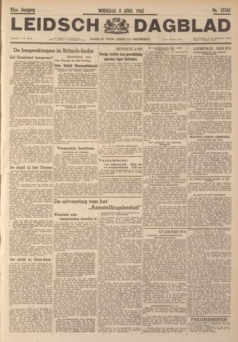 Leidsch Dagblad 1942-04-08