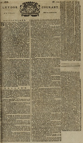 Leydse Courant 1808-08-19
