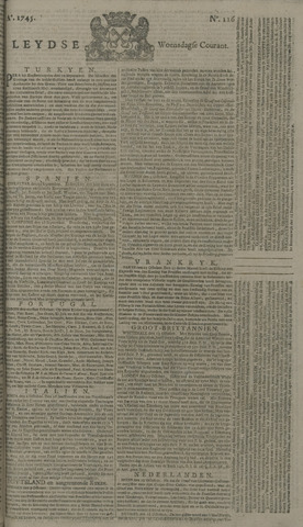 Leydse Courant 1745-10-20