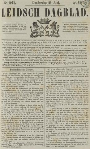 Leidsch Dagblad 1866-06-21