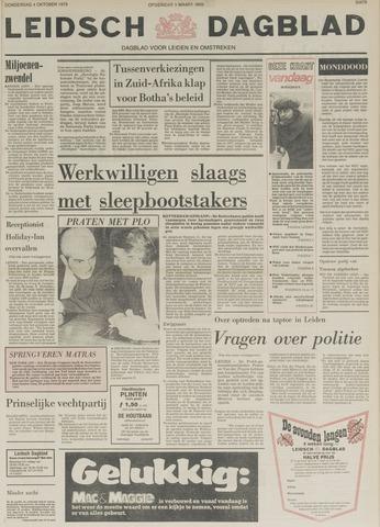 Leidsch Dagblad 1979-10-04