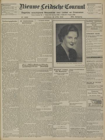 Nieuwe Leidsche Courant 1939-04-29