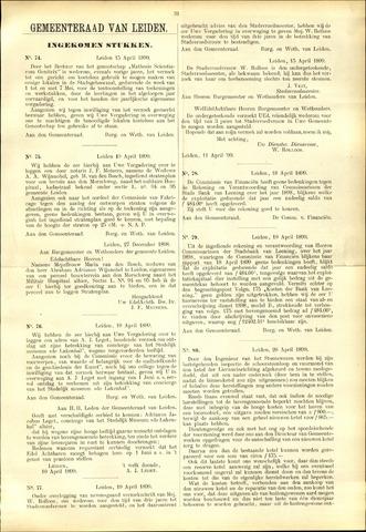Handelingen van de Raad 1899-04-15