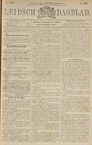 Leidsch Dagblad 1885-12-29