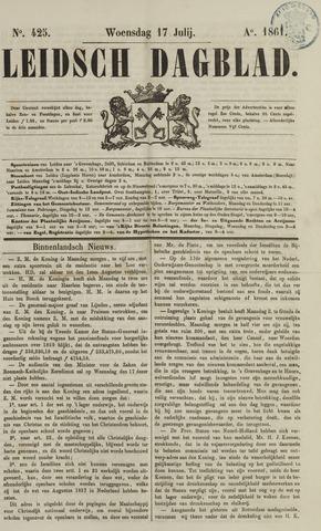 Leidsch Dagblad 1861-07-17