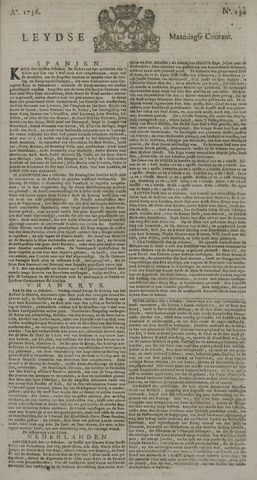 Leydse Courant 1736-10-29