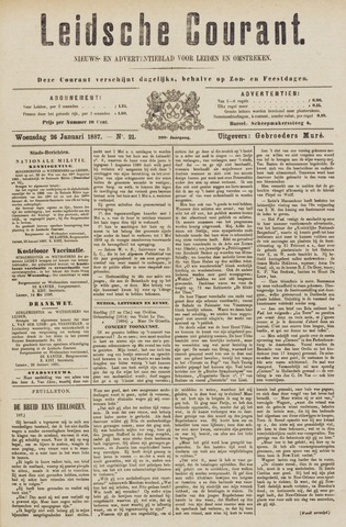 Leydse Courant 1887-01-26