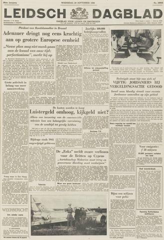 Leidsch Dagblad 1956-09-26