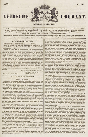 Leydse Courant 1873-08-19