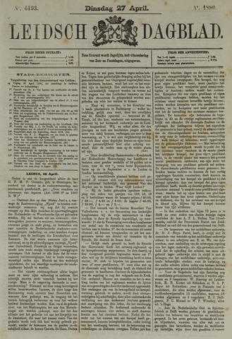 Leidsch Dagblad 1880-04-27
