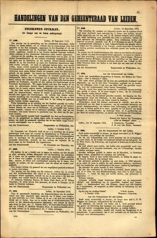 Handelingen van de Raad 1872-09-30