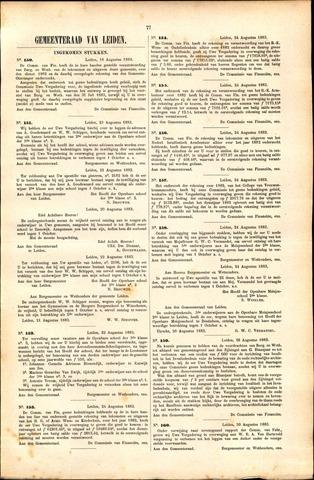 Handelingen van de Raad 1883-08-18