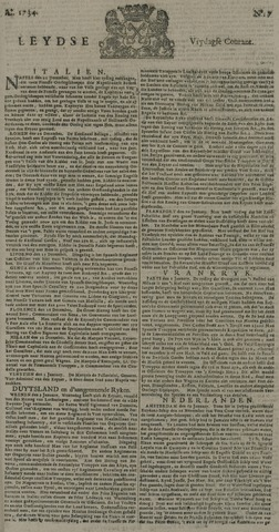 Leydse Courant 1734-01-15