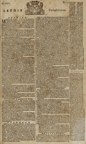Leydse Courant 1752-01-28