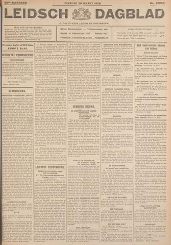 Leidsch Dagblad 1928-03-20