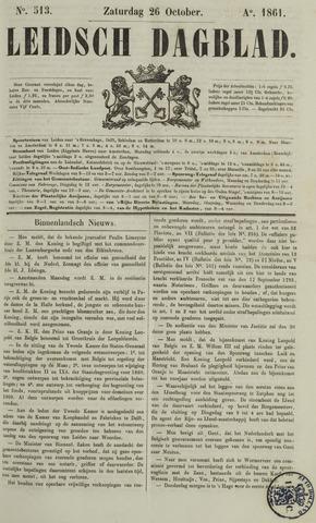 Leidsch Dagblad 1861-10-26