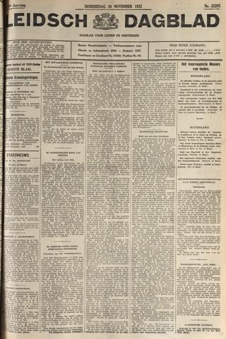Leidsch Dagblad 1932-11-24