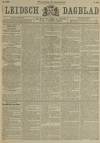 Leidsch Dagblad 1911-09-27