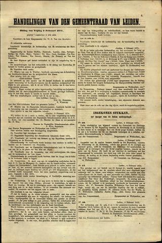 Handelingen van de Raad 1875-02-05
