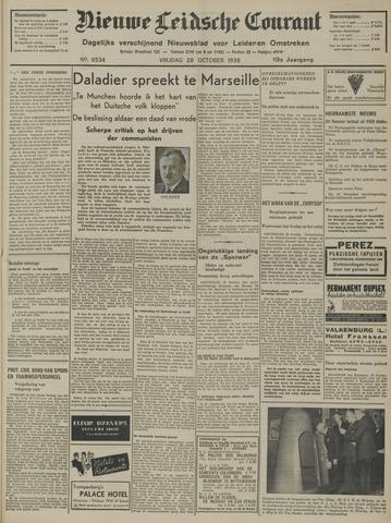 Nieuwe Leidsche Courant 1938-10-28