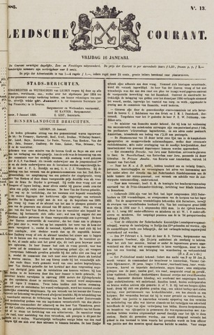 Leydse Courant 1885-01-16