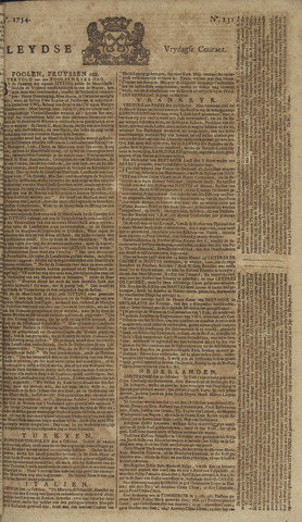 Leydse Courant 1754-11-01